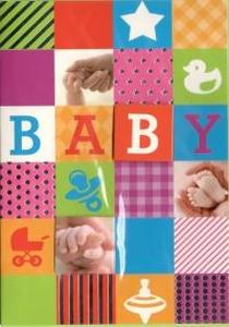 Felicitatiekaart geboorte baby