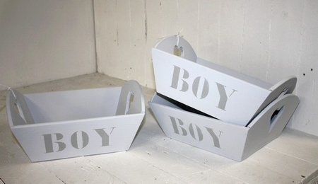 Opberger BOY Medium 36x30 x15 cm