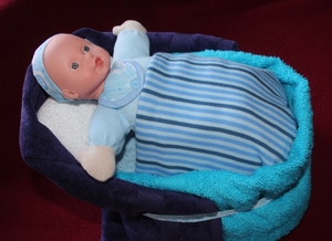 Luierwieg Baby Blauw