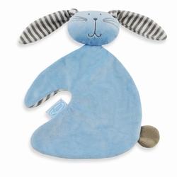 Knuffeldoekje Funnies blauw konijn