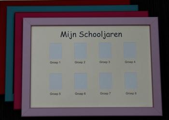 Pasfotolijst school groep 1-8