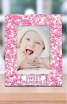 Babyfotolijst Roze muisjes